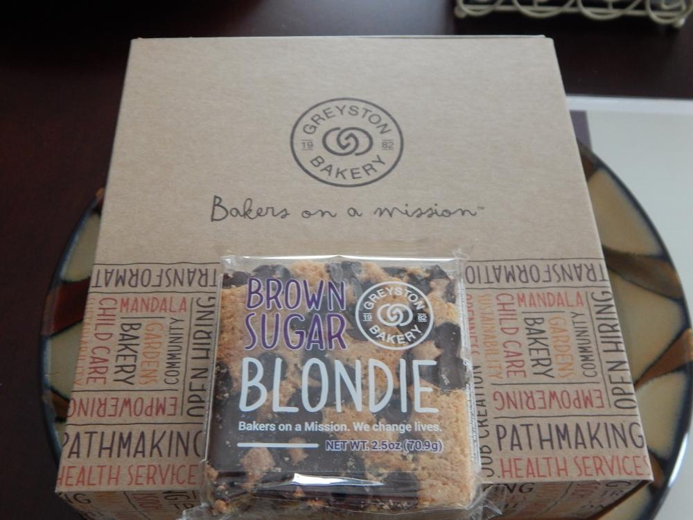"""""""Brown Sugar Blondie"""""""