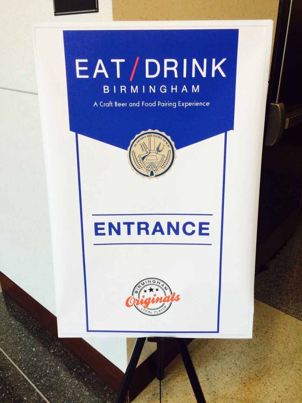 Eat Drink Sign
