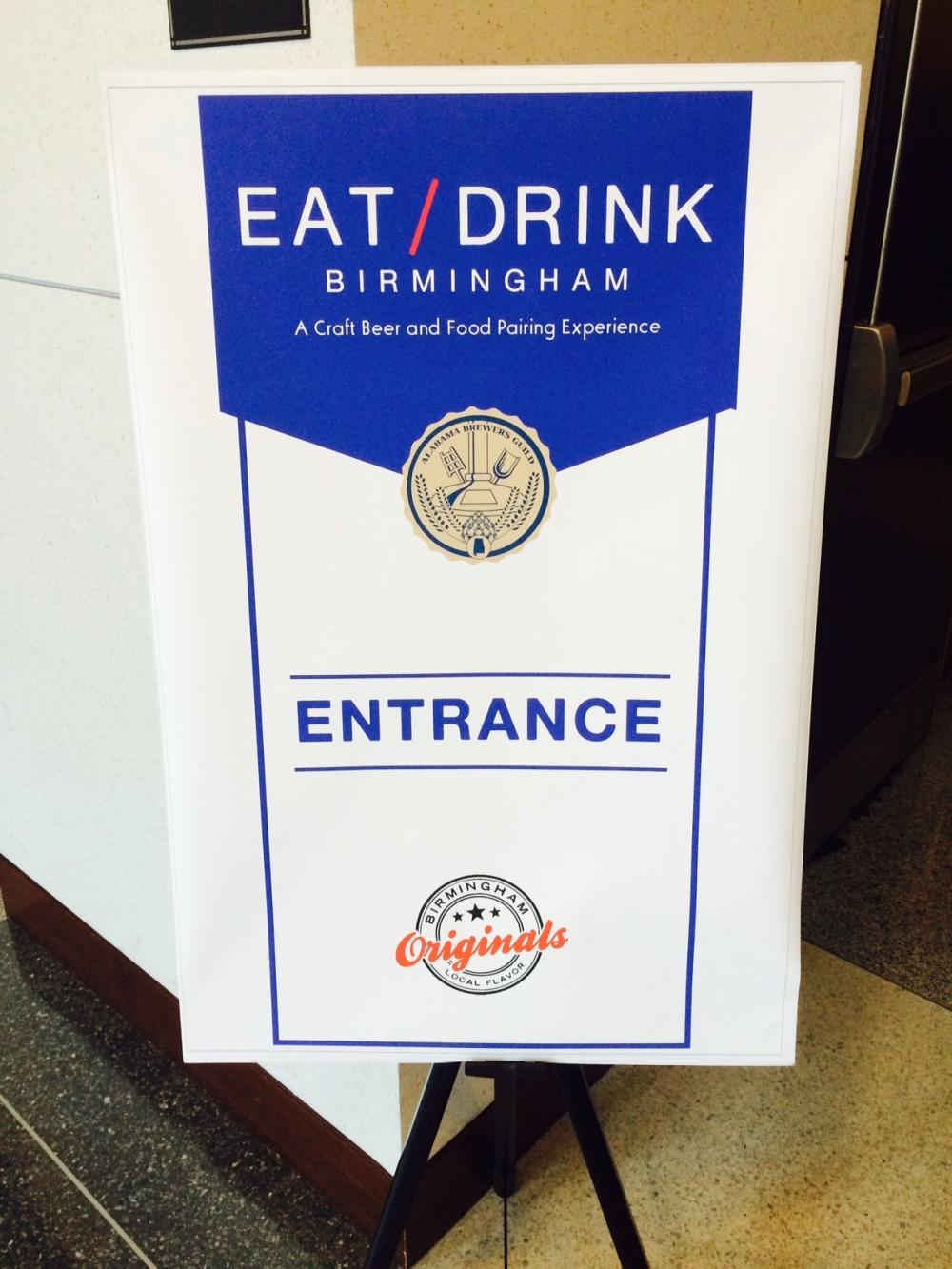 Eat Drink Sign