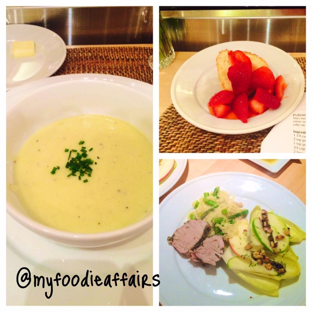 Williams Sonoma Dinner