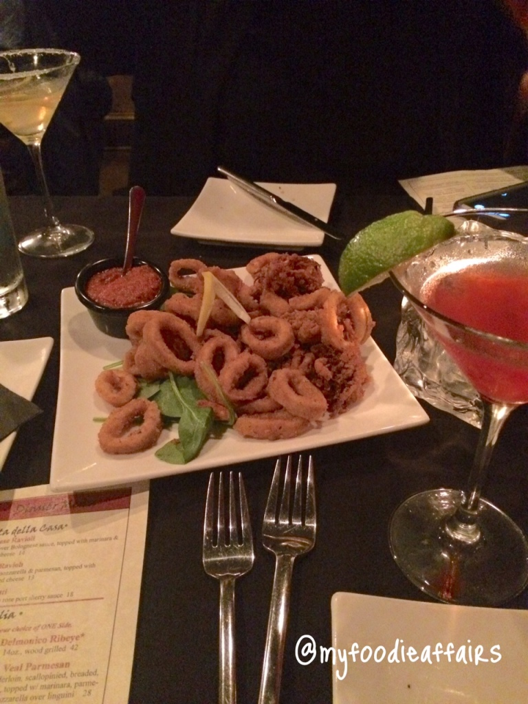 Bellini's Appetizers