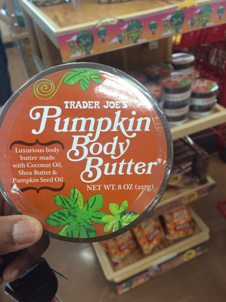TJ Pumpkin Body Butter